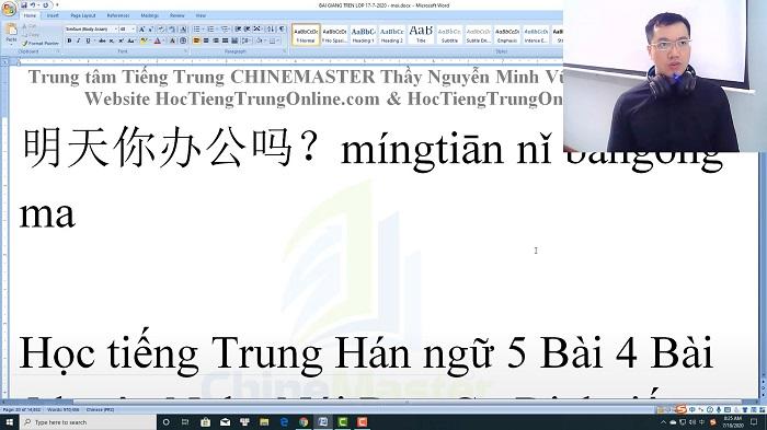 Luyện thi HSK 3 online Đề 15 Đọc hiểu Phần 2 trung tâm tiếng Trung luyện thi HSK online TiengTrungHSK ChineMaster