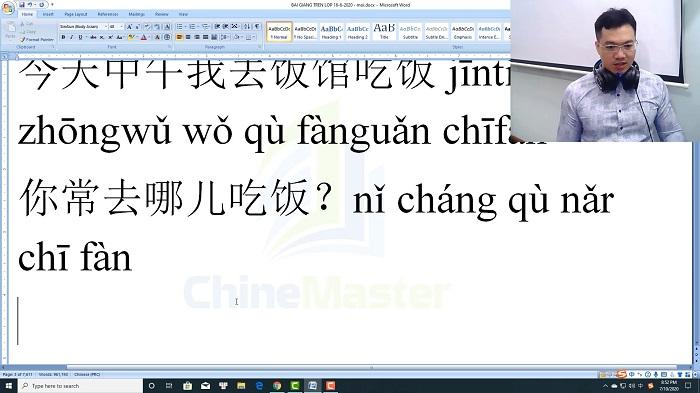 Luyện thi HSK 3 online Đề 17 Đọc hiểu Phần 2 trung tâm tiếng Trung luyện thi HSK online TiengTrungHSK ChineMaster