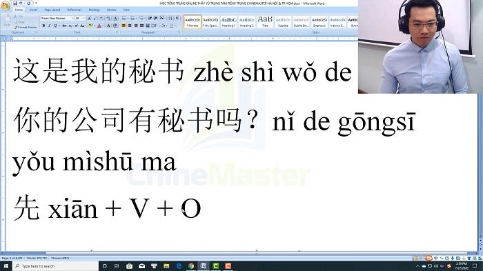 Luyện thi HSK 3 online Đề 21 Đọc hiểu Phần 1 trung tâm tiếng Trung luyện thi HSK online TiengTrungHSK ChineMaster