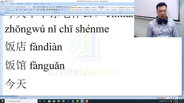Luyện thi HSK 3 online Đề 21 Đọc hiểu Phần 2 trung tâm tiếng Trung luyện thi HSK online TiengTrungHSK ChineMaster