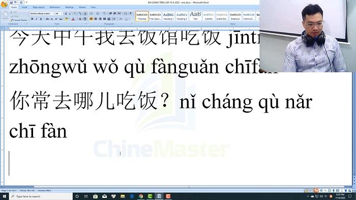 Luyện thi HSK 4 online Đề 18 Đọc hiểu Phần 3 trung tâm tiếng Trung luyện thi HSK online TiengTrungHSK ChineMaster