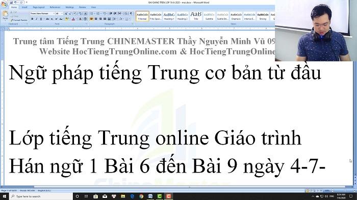 Luyện thi HSK 4 online Đề 22 Đọc hiểu Phần 2 trung tâm tiếng Trung luyện thi HSK online TiengTrungHSK ChineMaster