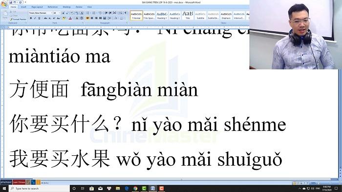 Luyện dịch tiếng Trung HSK 4 Nghe hiểu bài 20 trung tâm tiếng Trung luyện thi HSK online TiengTrungHSK ChỉneMaster