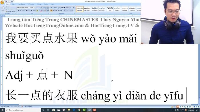 Luyện dịch tiếng Trung HSK 4 Nghe hiểu bài 44 trung tâm tiếng Trung luyện thi HSK online TiengTrungHSK ChỉneMaster