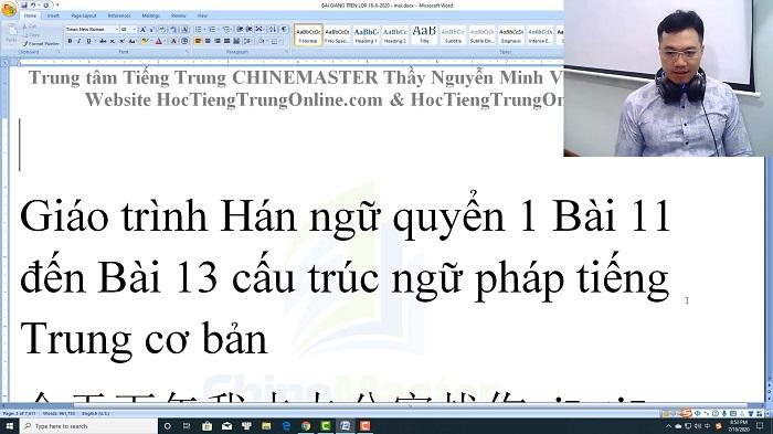 Luyện thi HSK 6 online Đề 21 Đọc hiểu Phần 3 trung tâm tiếng Trung luyện thi HSK online TiengTrungHSK ChineMaster