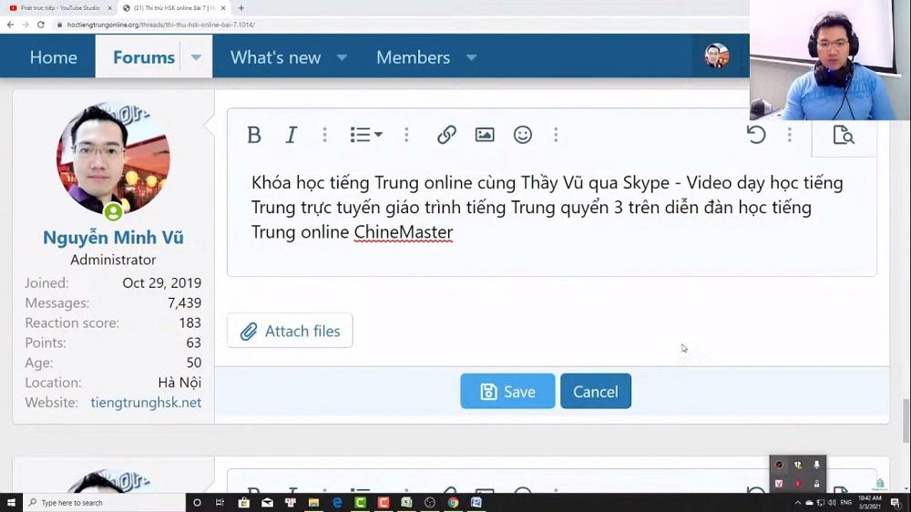 Thi thử HSK online tiếng Trung HSK đọc hiểu bài 1
