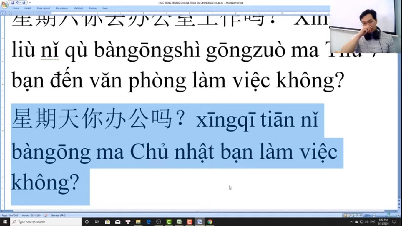 Thi thử HSK online tiếng Trung HSK đọc hiểu bài 8