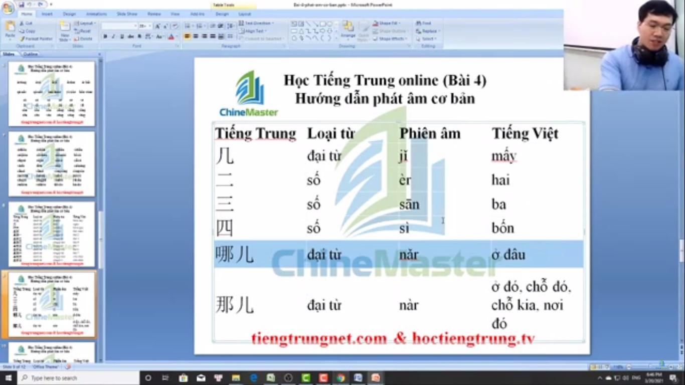 Trung tâm tiếng Trung Quận 10 thi thử HSK online bài 4