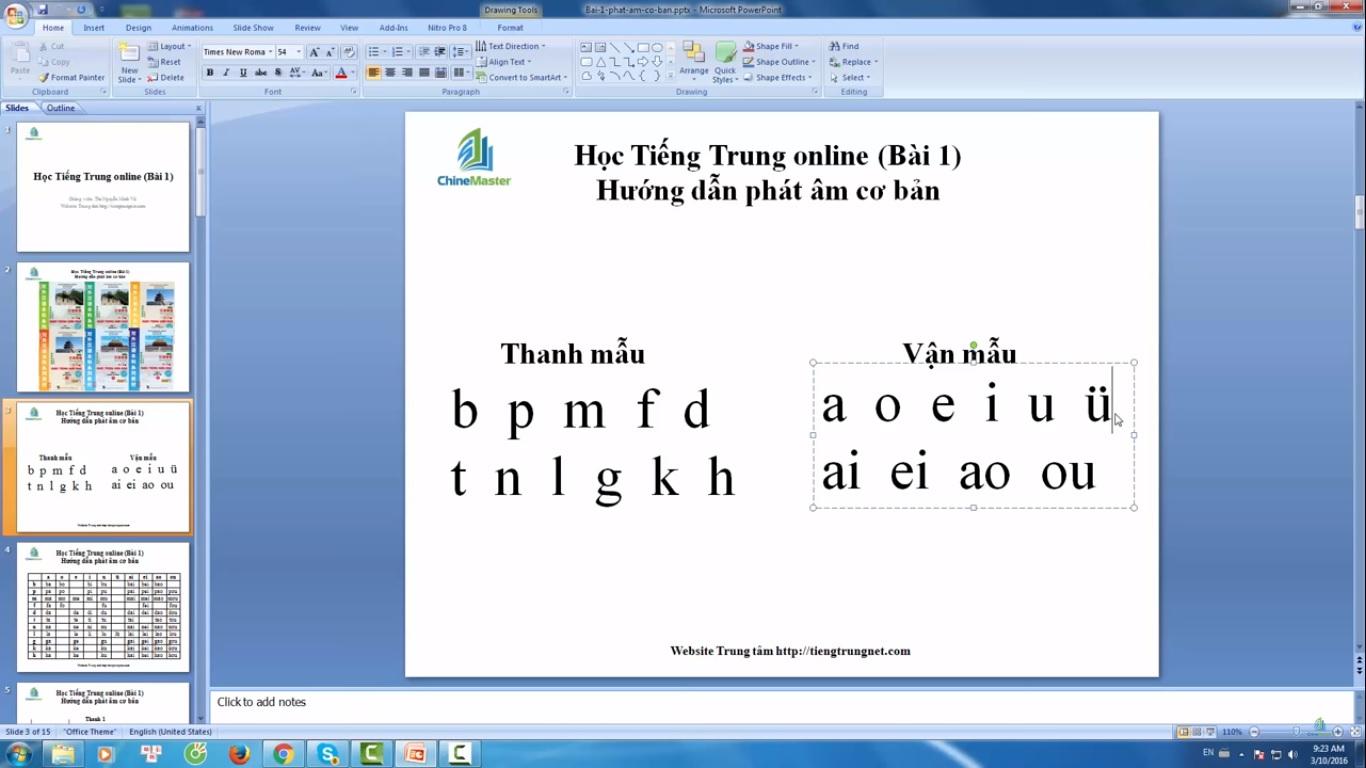 Trung tâm tiếng Trung Quận 10 thi thử HSK online bài 5