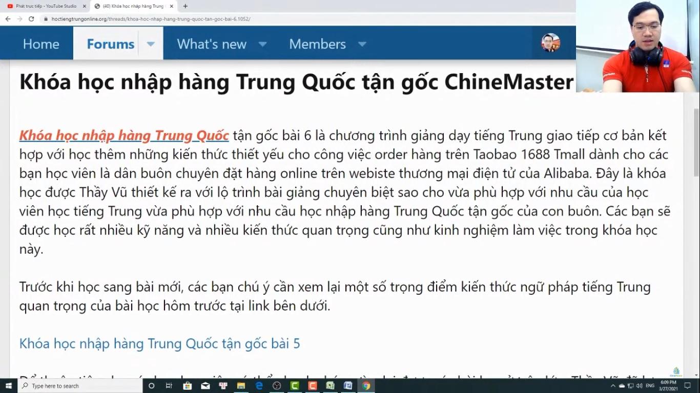 Trung tâm tiếng Trung Quận Thanh Xuân Review phần 1