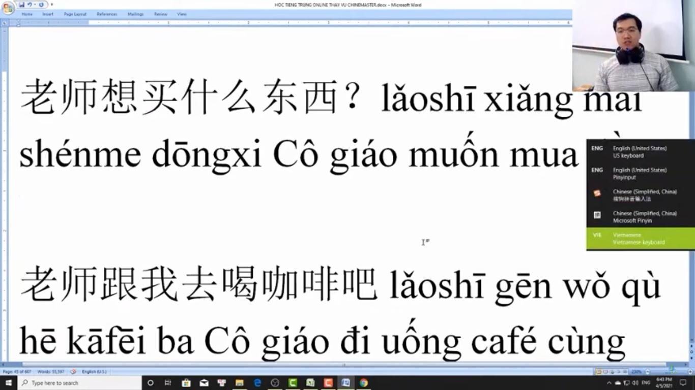 Luyện dịch tiếng Trung HSK 7 bài tập 5
