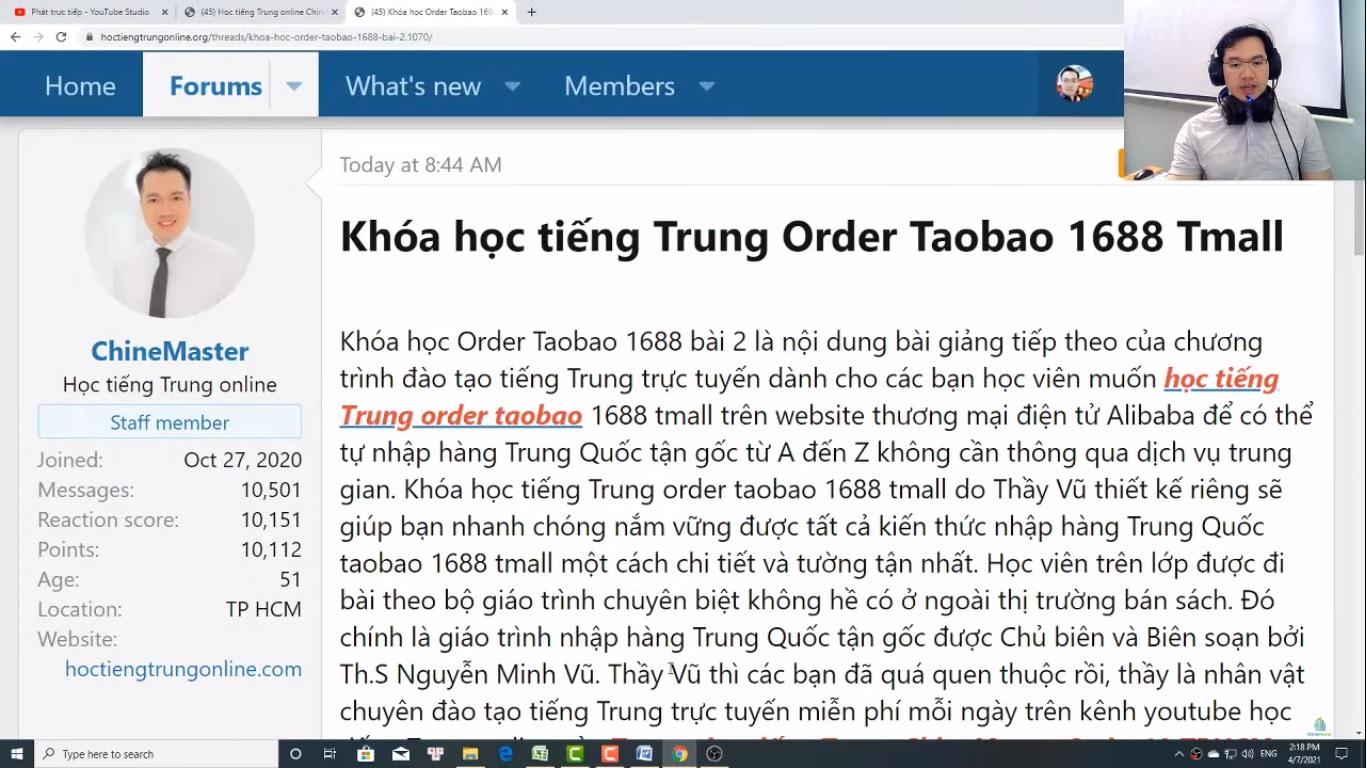 Luyện dịch tiếng Trung HSK 7 bài tập 7