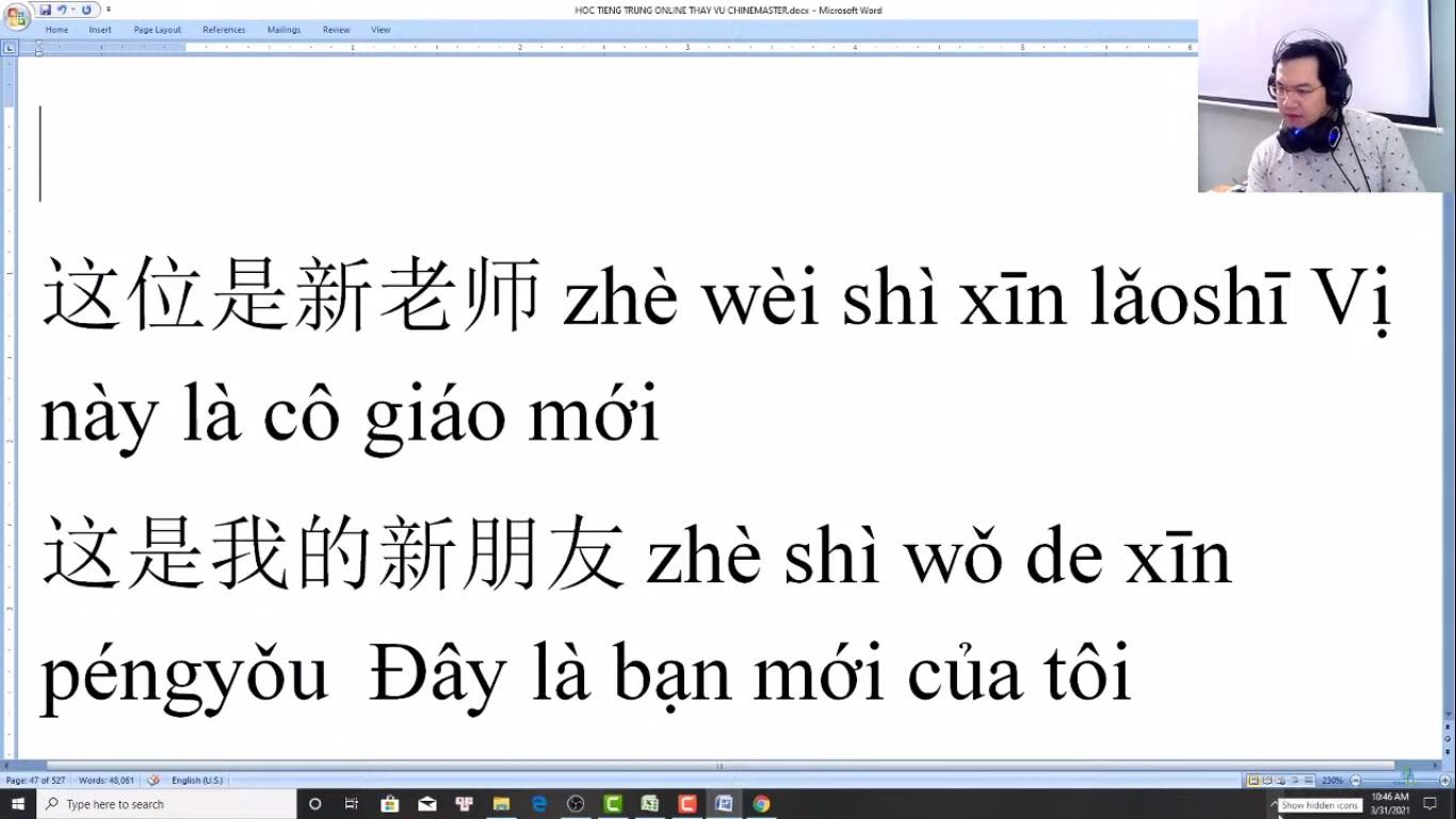 Trung tâm tiếng Trung Quận Thanh Xuân Review phần 3