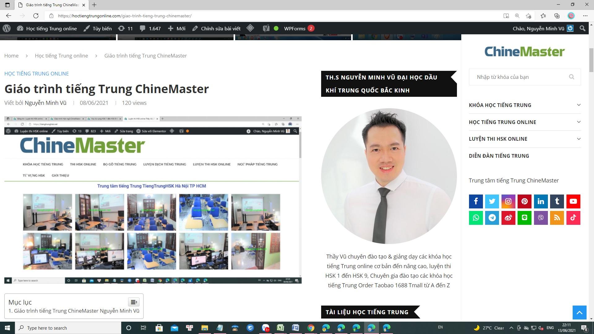 Giáo trình tiếng Trung ChineMaster 9 quyển - Giáo trình tiếng Trung tốt nhất - Giáo trình tiếng Trung thông dụng nhất - Giáo trình tiếng Trung uy tín nhất luyện thi HSK 9 cấp