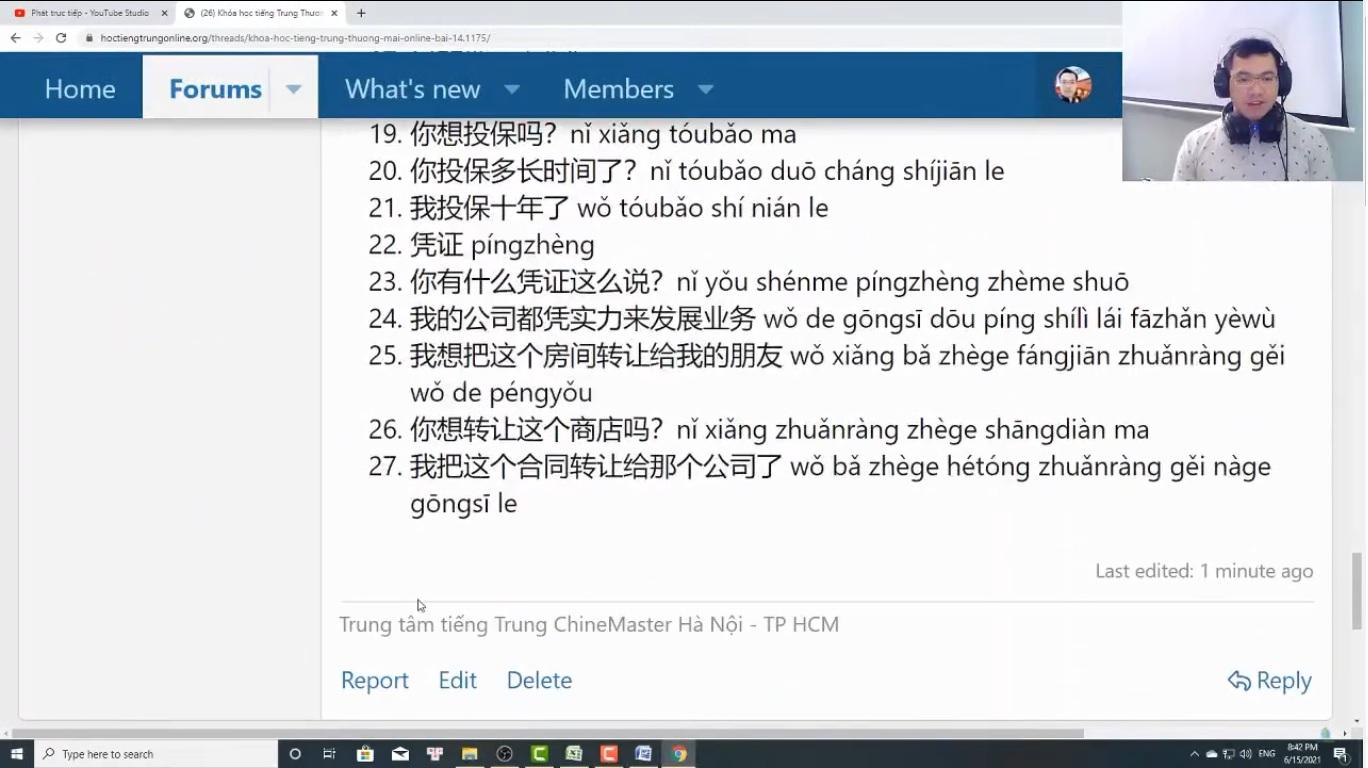 Luyện tập đọc hiểu tiếng Trung HSK 7 HSK 8 HSK 9 mới