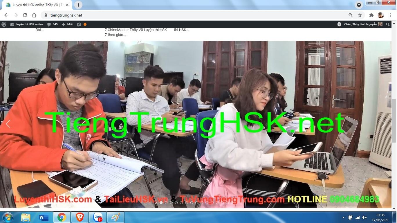 Nâng cao từ vựng HSK 9 cấp theo bài tập luyện dịch HSK