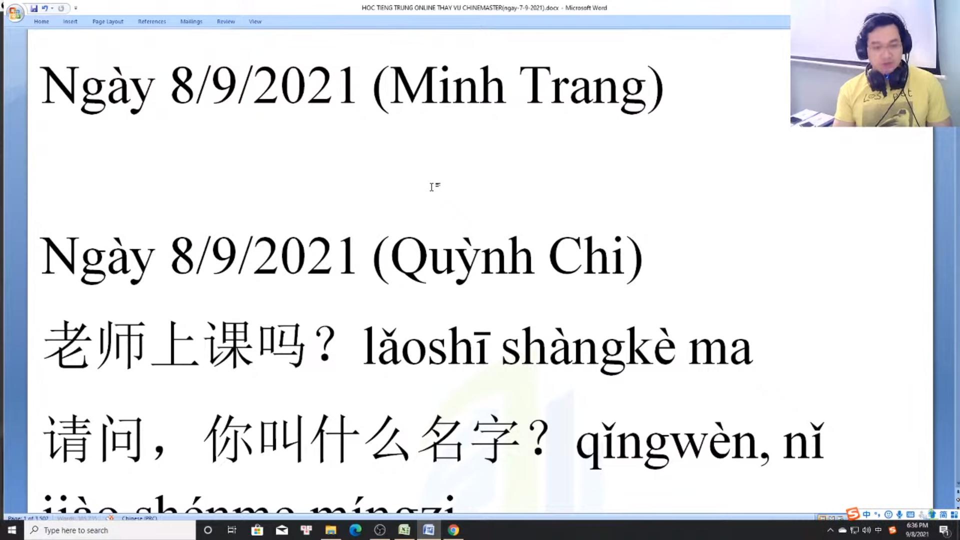 Giáo trình tiếng Trung thương mại Tập 6 luyện dịch ứng dụng cơ bản
