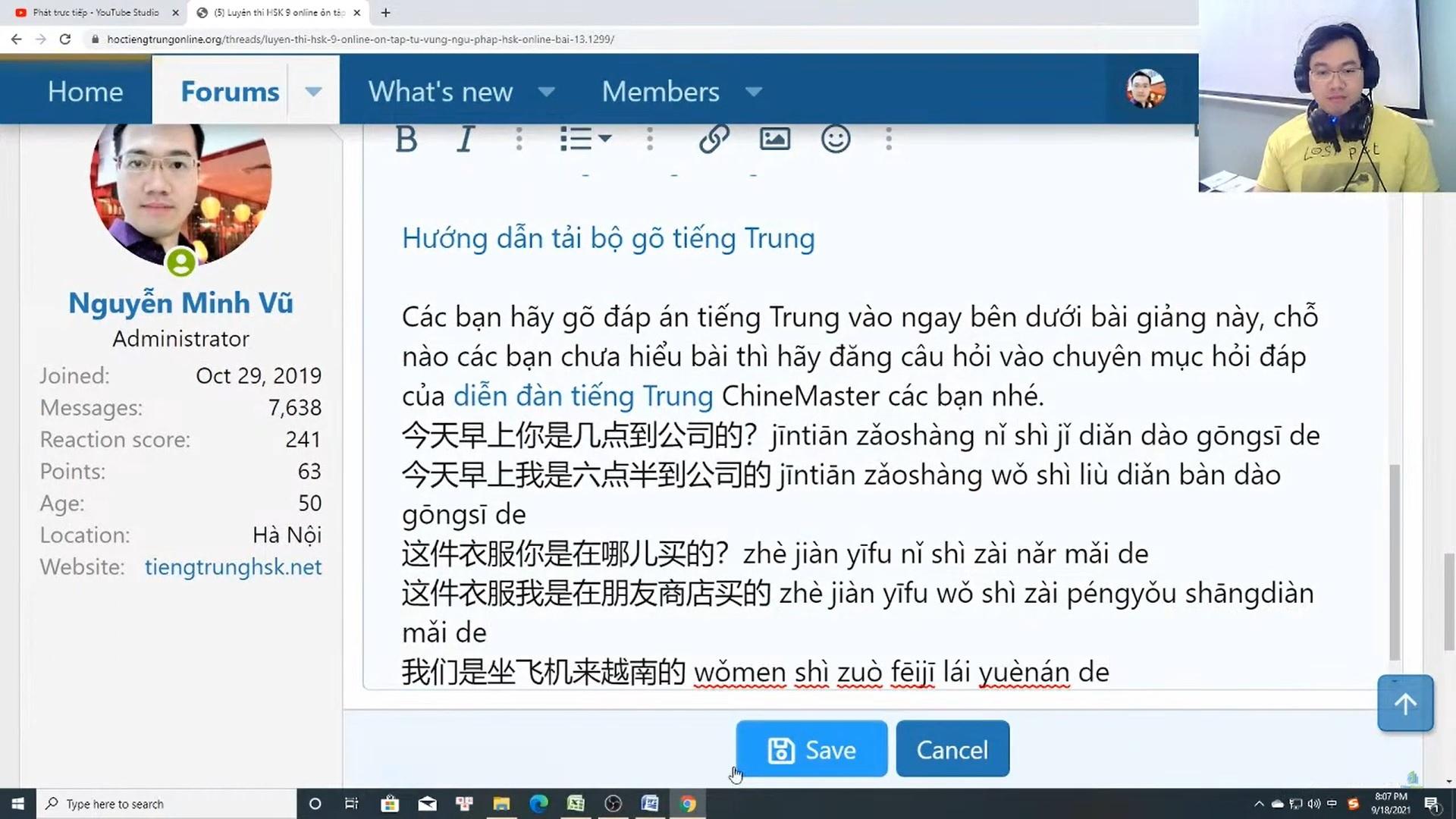 Giáo trình tiếng Trung thương mại ứng dụng Bài 1